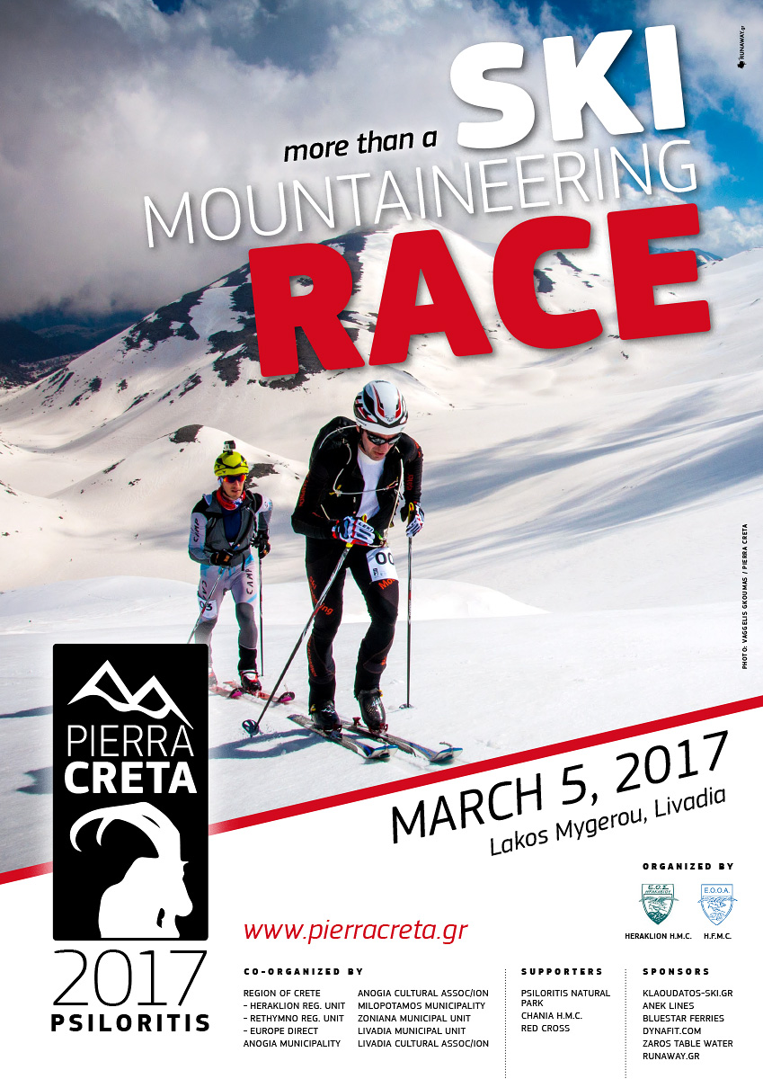 Pierra Creta Europe's southern ski mountaineering race